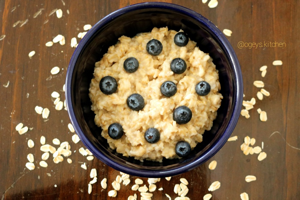 oatmeal with logo